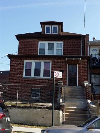 Bronx Multi Family 2-4 For Sale: 1466 Hicks Street