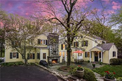 Chappaqua Single Family Home For Sale: 478 Quaker Road