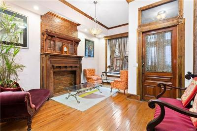 New York Single Family Home For Sale: 357 West 122nd Street
