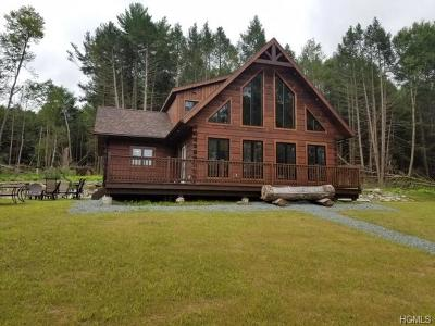 Narrowsburg Single Family Home For Sale: 156 Swamp Pond Road