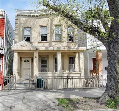 Bronx County Multi Family 2-4 For Sale: 611 Baker Avenue