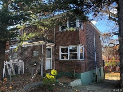 Bronx Single Family Home For Sale: 3315 Lurting Avenue