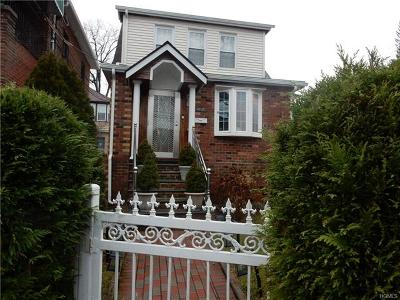 Bronx Single Family Home For Sale: 4025 Pratt Avenue