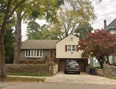 Yonkers Single Family Home For Sale: 71 Belvedere Drive