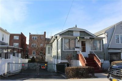 Bronx Single Family Home For Sale: 1167 Throgmorton Avenue