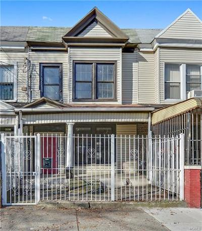 Bronx Single Family Home For Sale: 4445 Park Avenue