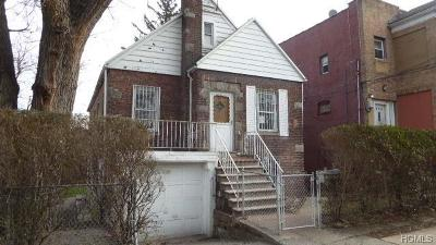 Bronx Single Family Home For Sale: 650 Thieriot Avenue