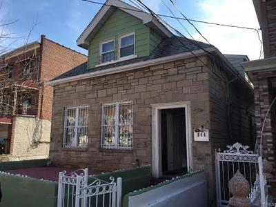 Bronx Multi Family 2-4 For Sale: 844 East 216th Street
