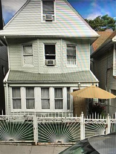 Single Family Home For Sale: 2699 Heath Avenue
