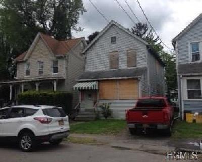 Port Jervis Single Family Home For Sale: 149 Hammond Street