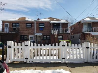Bronx County Multi Family 2-4 For Sale: 228 Brinsmade Avenue