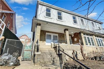 Bronx Single Family Home For Sale: 191 West 179th Street