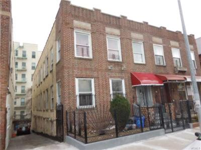 Bronx Multi Family 2-4 For Sale: 1650 Montgomery Avenue