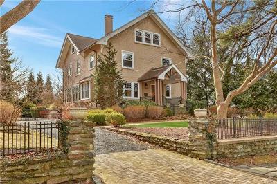 Mount Vernon Single Family Home For Sale: 42 Edgewood Avenue