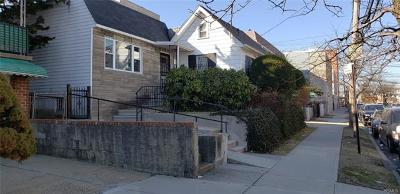 Bronx NY Single Family Home For Sale: $509,000
