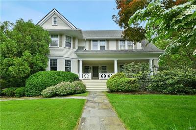 Scarsdale Single Family Home For Sale: 29 Circle Road
