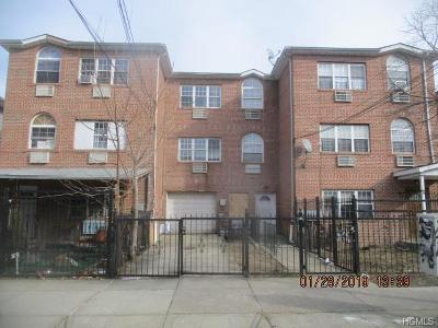 Bronx Multi Family 2-4 For Sale: 1116 Saint Lawrence Avenue