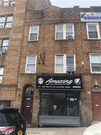 Bronx Commercial For Sale: 1343 Edward L Grant Highway