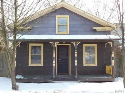 Port Jervis Single Family Home For Sale: 3 Canal Street