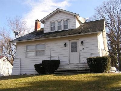 Newburgh Single Family Home For Sale: 68 South Plank Road
