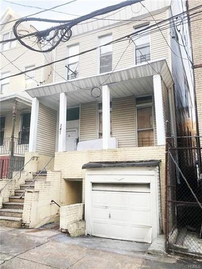Bronx Multi Family 2-4 For Sale: 247 East 175th Street