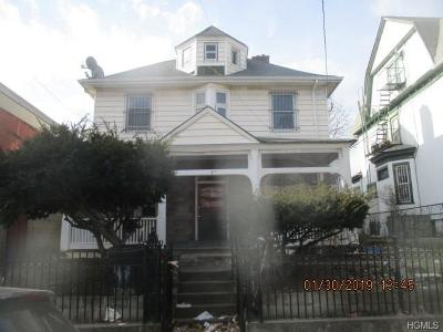 Yonkers Single Family Home For Sale: 47 Livingston Avenue