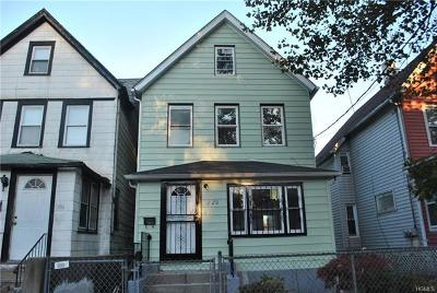 Mount Vernon Single Family Home For Sale: 223 Franklin Avenue