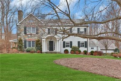 Chappaqua Single Family Home For Sale: 34 Overlook Drive