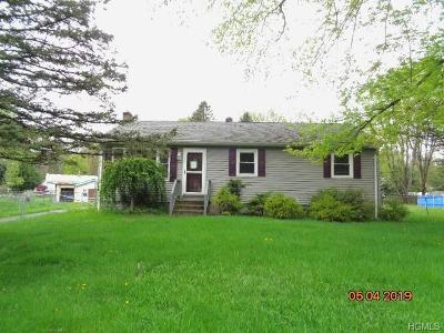 Westbrookville NY Single Family Home For Sale: $109,900