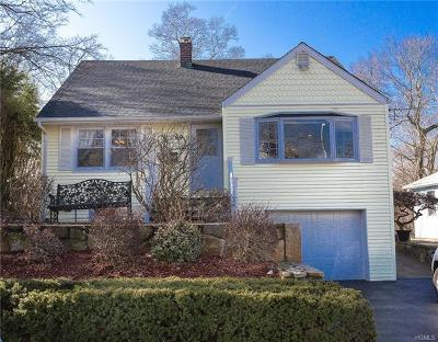 Croton-On-Hudson Single Family Home For Sale: 69 Elmore Avenue