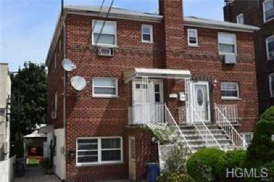 Bronx County Multi Family 2-4 For Sale: 3703 East Tremont Avenue