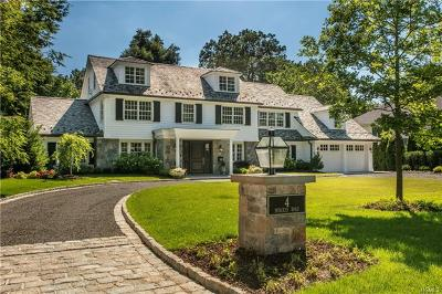 Scarsdale NY Single Family Home For Sale: $4,999,999