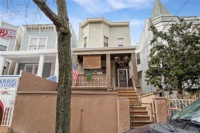 Bronx Single Family Home For Sale: 2075 Bathgate Avenue