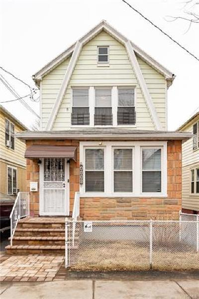 Bronx Single Family Home For Sale: 4530 Hill Avenue