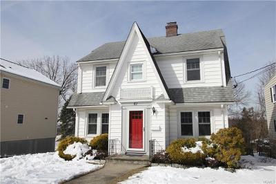 Ossining Single Family Home For Sale: 61 Sherwood Avenue
