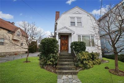 Mamaroneck Single Family Home For Sale: 814 Woodbine Avenue