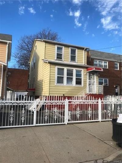 Bronx Single Family Home For Sale: 1807 Patterson Avenue