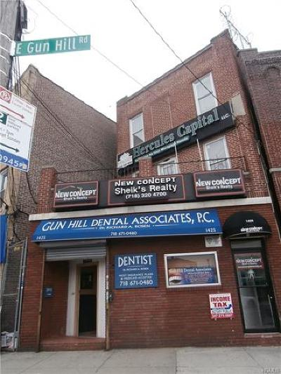 Bronx County Commercial For Sale: 1425 East Gun Hill Road