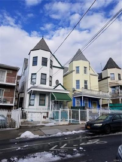 Bronx County Multi Family 2-4 For Sale: 651 East 226th Street