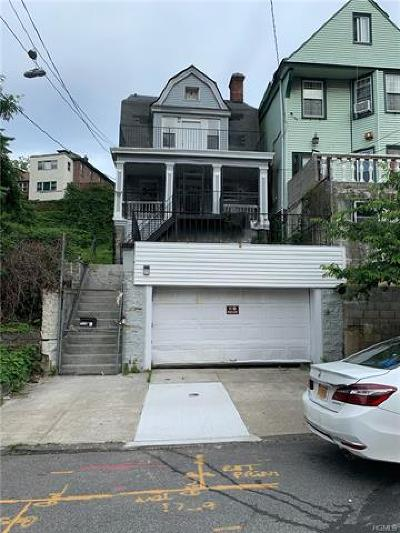 Bronx County Single Family Home For Sale: 1748 Undercliff Avenue