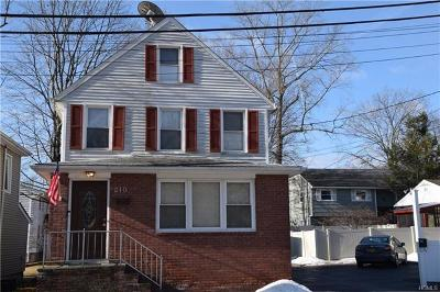 Westchester County Single Family Home For Sale: 210 & 212 First Street