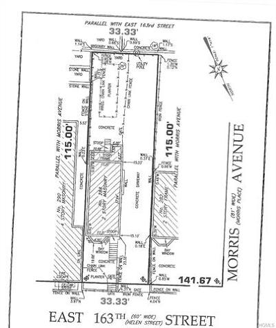 Bronx Residential Lots & Land For Sale: 286 East 163rd Street