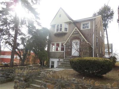 Mount Vernon NY Single Family Home For Sale: $270,400
