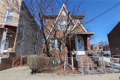 Bronx County Single Family Home For Sale: 1057 East 232nd Street