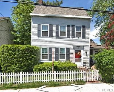 Piermont NY Single Family Home For Sale: $549,900