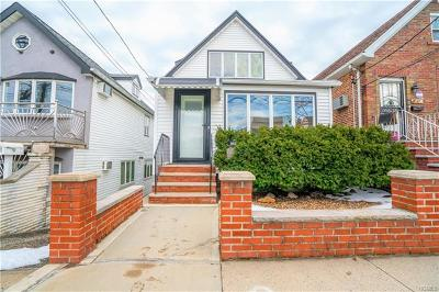 Bronx Single Family Home For Sale: 1618 Kennellworth Place