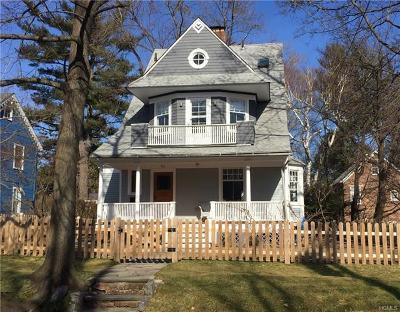 Dobbs Ferry Single Family Home For Sale: 51 Belden Avenue
