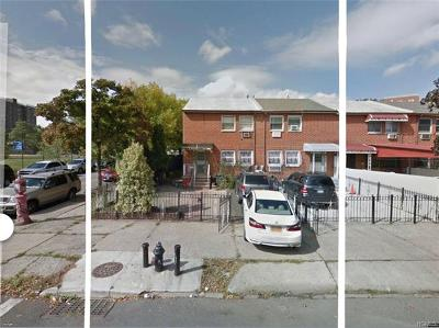 Bronx Single Family Home For Sale: 2165-2167 Arthur Avenue