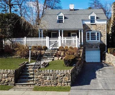 New Rochelle Single Family Home For Sale: 80 Mountain Avenue