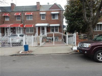 Bronx Single Family Home For Sale: 4030 Bruner Avenue
